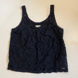 Gilly Hicks lace tank top